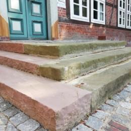 Treppe Amtshaus Moisburg 4