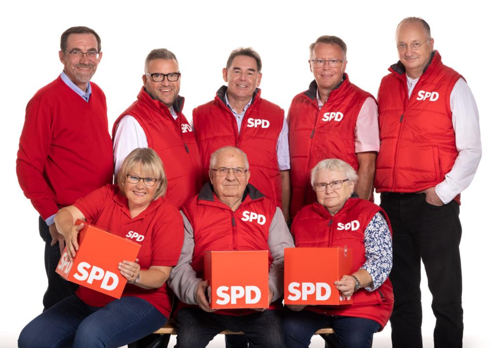 SPD Vorstand OV Hollenstedt 2020