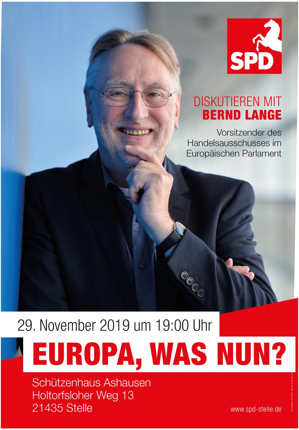 Europa was nun