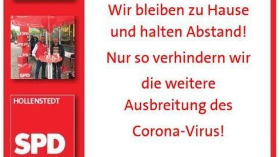 Corona-Plakat
